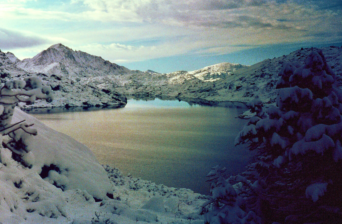 TooLoud Nature Photography Mountain Glow Muscle Shirt